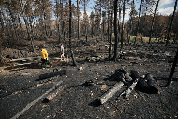 While the region remains dry and crews are still finding hot spots, officials don't expect the Greenwood fire to spread.
