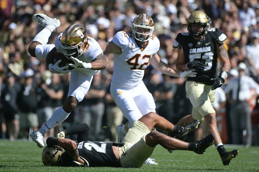 Gophers hammer Colorado 30-0 for 21st consecutive nonconference win   Star  Tribune