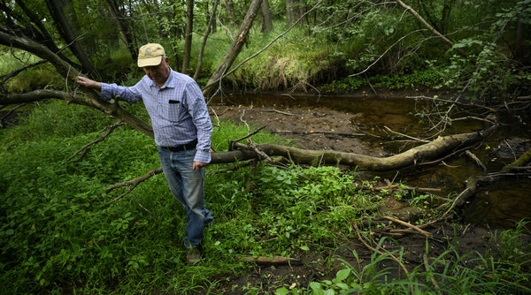 """Ken Nodo has fished Little Rock Creek since he was a boy. To him, the fish in the creek are """"the canary in the coal mine."""""""