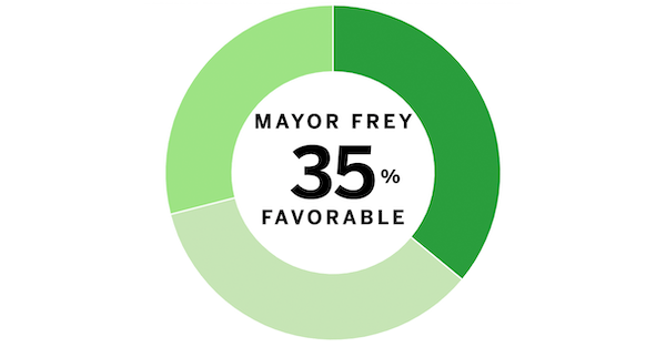 Poll results: Frey, Minneapolis City Council and charter amendments