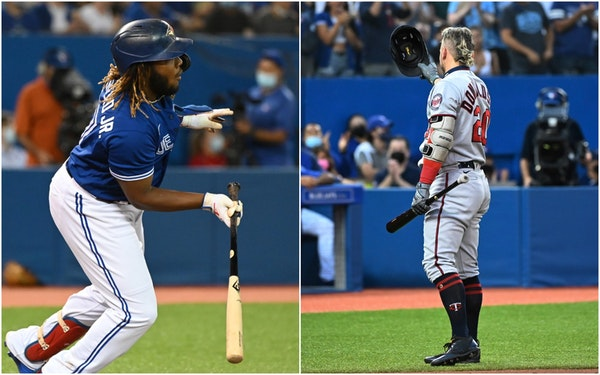 Mutual respect: Donaldson, Guerrero exchange jerseys after game in Toronto