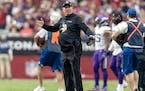 Minnesota Vikings head coach Mike Zimmer.