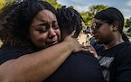 """At the vigil for Loyace Foreman III on September 19, 2021, at Mount Olivet Church in St. Paul, Kaelah Foreman said, """"he was a big brother to anybody"""