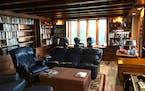 My Favorite Room: Home office has views of Lake Minnetonka, secret panels