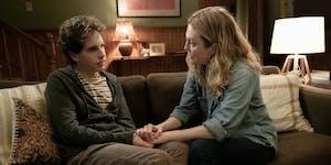 "Ben Platt and Julianne Moore play son and mother in ""Dear Evan Hansen."""