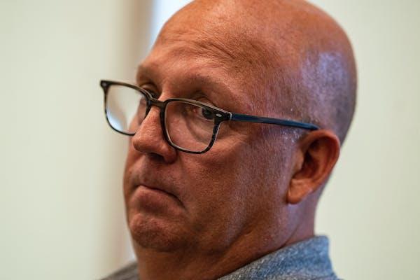 Gophers coach Bob Motzko, pictured on Aug. 9.