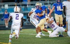 Wayzata's Julian Alfaro Diedrich waited behind more experienced backs in previous seasons but dominated from the backfield Friday.  
