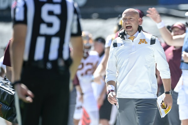 P.J. Fleck takes blame for halftime clock mixup at Colorado
