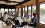 The Kingfisher in Durand, Wis., overlooks the Chippewa River.