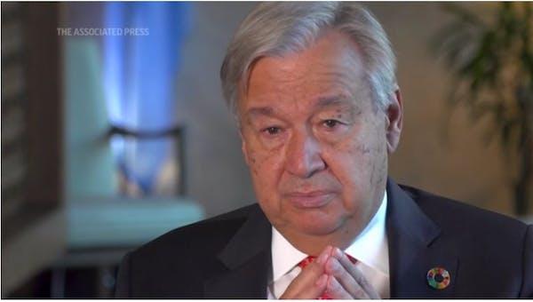 U.N. chief: We must avoid U.S./China 'cold war'