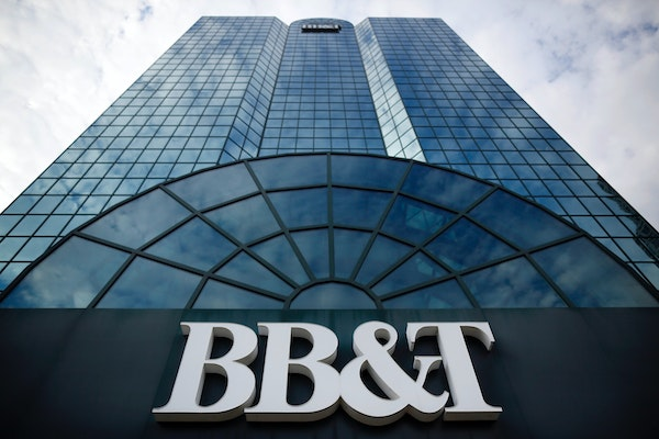 BB&T's purchase of SunTrust Banks in 2019 is the largest deal in U.S. banking over the past decade.