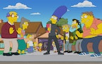 """A musical comes to life in Springfield as Marge stages a revival of her beloved high school showon the season premiere of """"The Simpsons."""""""