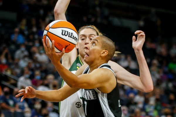 The addition of physical, pick-and-roll point guard Layshia Clarendon after an 0-4 start helped turn the Lynx's season around.