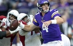The Vikings added quarterback Sean Mannion to the active roster from the practice squad on Tuesday.
