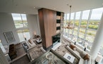 Two-story hospitality suites offer plenty of room — and a full kitchen.