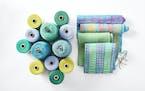 "From top: ""Bondi Beach"" hand-dyed silk and Tencel scarf, $150, Kala Exworthy; loomsong.com ""Metro"" silk scarf, $200, Kala Exworthy, loomsong.c"