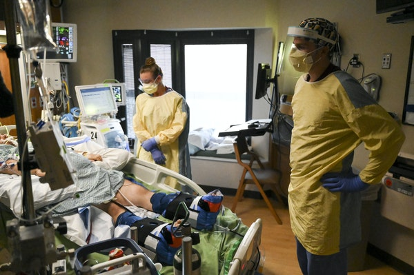 Vaccinated people make up the minority of severe COVID-19 hospitalizations in Minnesota, according to two hospital systems.