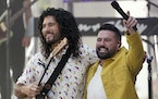 """Dan Smyers, left, and Shay Mooney from the duo Dan + Shay performed this summer for NBC's """"Today"""" show."""