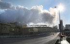 Steam from the the Hennepin Energy Recovery Center (HERC) facility in 2015.