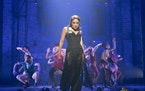 """Karen Olivo played Satine in """"Moulin Rouge! The Musical"""" at the Al Hirschfeld Theater in New York in June 2019. """"Moulin Rouge"""" is one of the t"""