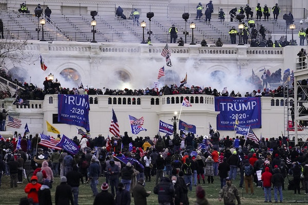 On Jan. 6, violent protesters, loyal to then-President Donald Trump, stormed the U.S. Capitol in Washington.