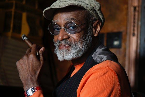 Filmmaker, author and actor Melvin Van Peebles, in his Upper West Side apartment in Manhattan on Jan. 12, 2010. Van Peebles, the filmmaker praised as