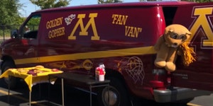 """The owner of this """"Fan Van"""" is hoping to find it after its theft over the weekend.  Credit: Submitted photo"""