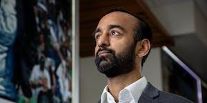 Timberwolves executive vice president of basketball operations Sachin Gupta.
