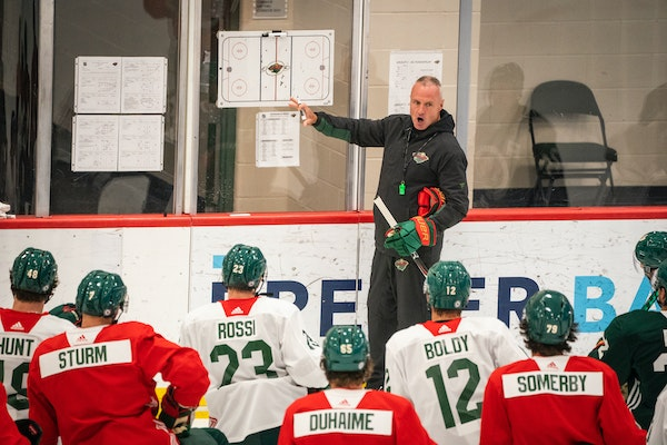 All Wild players are vaccinated as camp opens with Kaprizov centered by Eriksson Ek