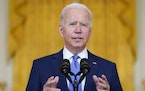 President Joe Biden gets mixed reviews from Minnesotans in a new poll, after less than a year on the job.