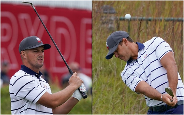 DeChambeau-Koepka feud called 'non-issue' by U.S. captain Stricker before Ryder Cup