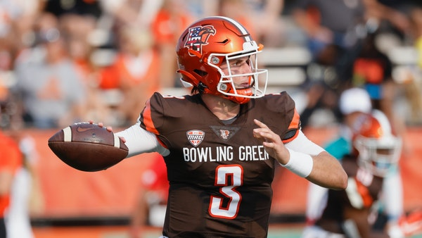 Bowling Green quarterback Matt McDonald has completed 71.4% of his passes, tied for 15th in the nation.