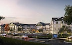 Rendering of the new Talamore Senior Living complex Ryan Cos. is building in Woodbury, to open in 2023.
