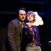 """Kyler Chase and Zoe Hartigan play strangers, chained together and forced to solve a mystery in Lyric Arts' production of """"The 39 Steps."""""""