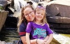 Kelsey Kruse with daughter Autumn.