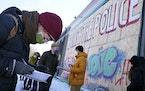 Organizers with Yes 4 Minneapolis held a drive in February to get signatures on a petition to change the Minneapolis city charter and establish a new