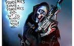 Sack cartoon: The other epidemic
