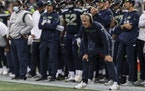 Pete Carroll and the Seahawks lost in overtime to Tennessee last weekend.