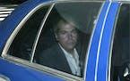 In this Nov. 18, 2003 file photo, John Hinckley Jr. arrives at U.S. District Court in Washington.