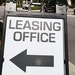 A leasing sign in front of an apartment in Fort Lauderdale, Fla. (Carline Jean/South Florida Sun Sentinel/TNS) ORG XMIT: 27469164W