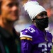 Vikings running back Dalvin Cook (33) walks to the locker room after the end of the first half against the Denver Broncos in a pre-season game at U.S.