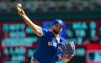 Toronto starter Alek Manoah struck out eight over 5 2⁄3 innings.