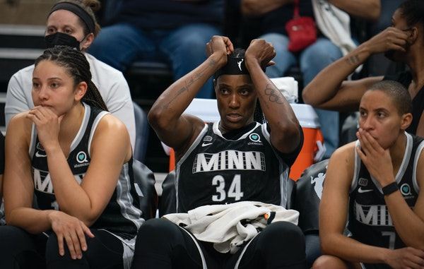 Sky falls in on Lynx during one-and-done exit from playoffs