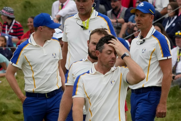 McIlroy reflects with emotion on a tough week at the Ryder Cup
