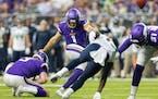 Vikings kicker Greg Joseph atoned for missing a potential game-winning field goal against Arizona a week ago by converting six kicks Sunday vs. Seattl