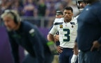 Russell Wilson finished with seven yards rushing on three carries.