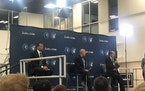 Alex Rodriguez, Marc Lore and Glen Taylor answered questions at a press conference Monday morning.