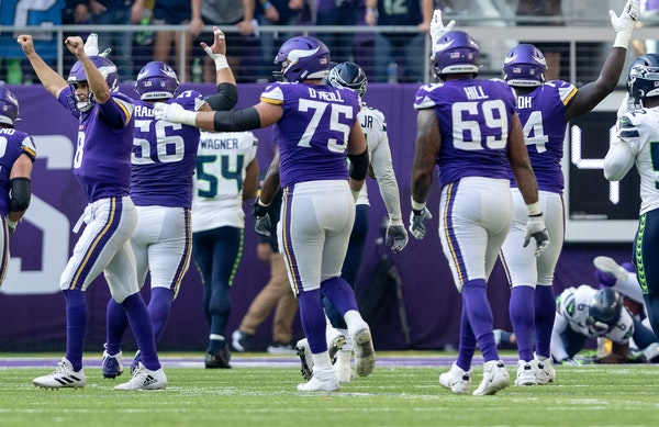 What's behind improved play of the Vikings offensive line? Here's a good look