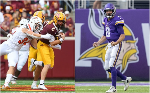 Kubiak creates smart Vikings schemes; Gophers try to pick up pieces