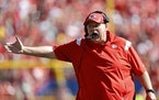 Andy Reid of Kansas City coached Sunday against the Chargers, but was hospitalized after the game.